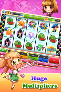 777 - Cute Chibi Vegas Slot Machine
