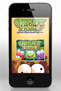 CRAZY FROGS – Fun Tapping Puzzle Blast