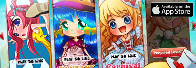 Chibi Anime Slot Machine